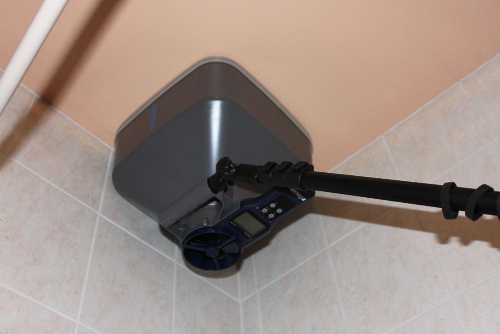 mesure de débit de ventilation